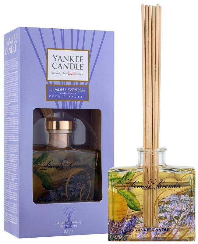 Yankee Candle Lemon Lavender aróma difúzor s náplňou 88 ml Signature