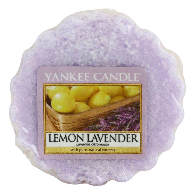 Yankee Candle Lemon Lavender κερί για αρωματική λάμπα 22 γρ
