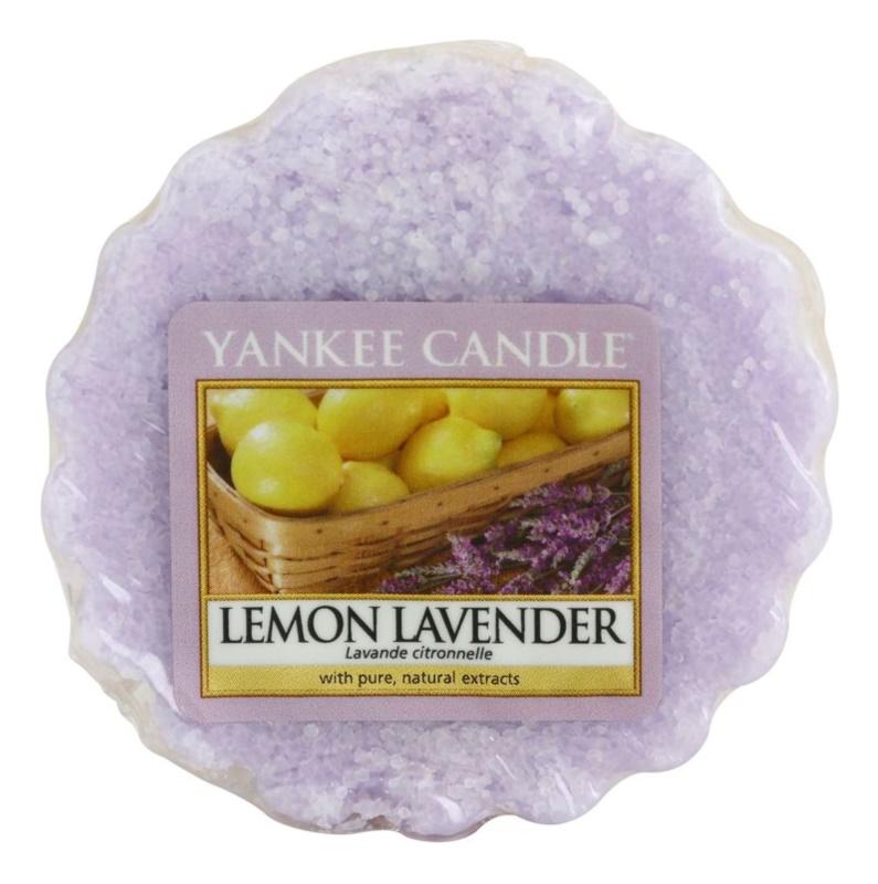Yankee Candle Lemon Lavender віск для аромалампи 22 гр