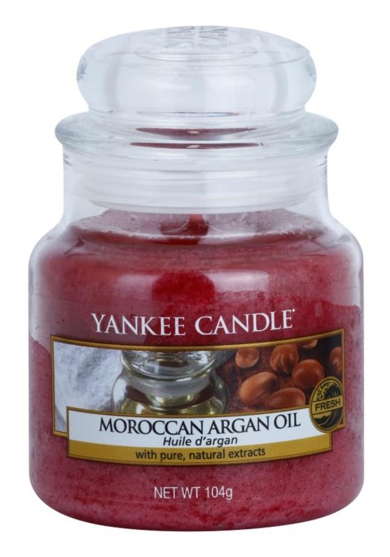 Yankee Candle Moroccan Argan Oil świeczka zapachowa  104 g Classic mała