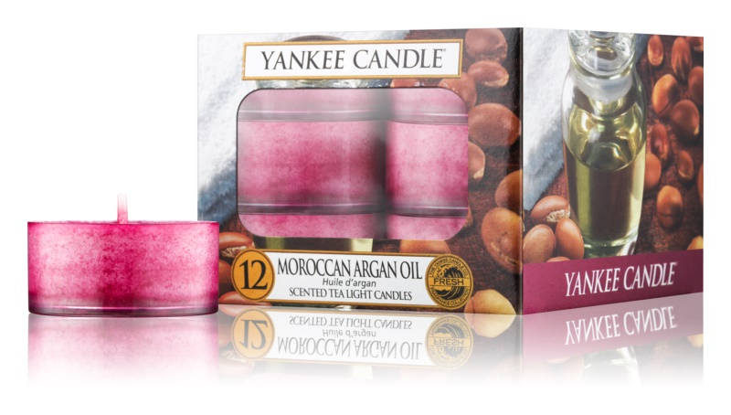 Yankee Candle Moroccan Argan Oil bougie chauffe-plat 12 x 9,8 g