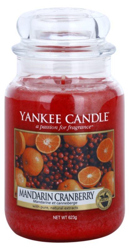 Yankee Candle Mandarin Cranberry vela perfumado 623 g Classic grande