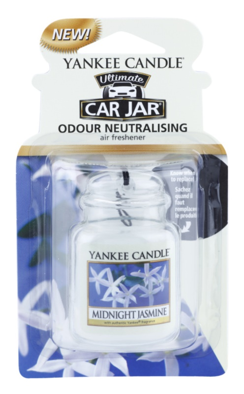 Yankee Candle Midnight Jasmine vôňa do auta   závesná