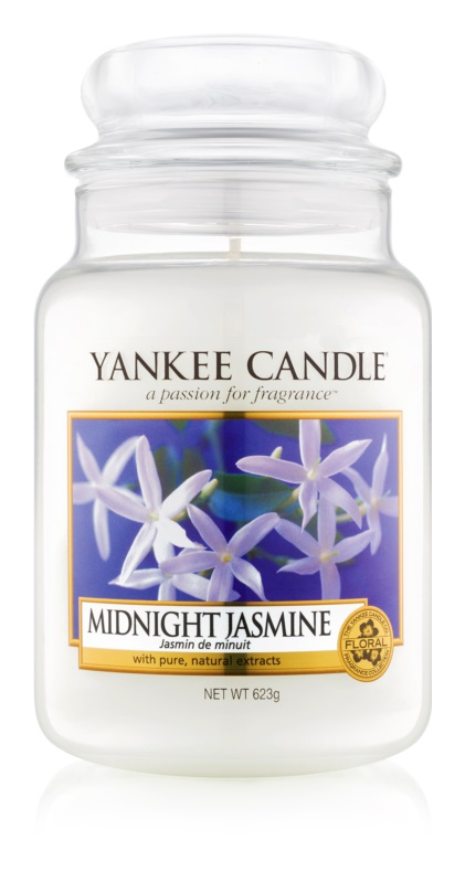 Yankee Candle Midnight Jasmine Duftkerze  623 g Classic groß