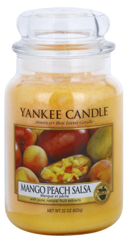 Yankee Candle Mango Peach Salsa bougie parfumée 623 g Classic grande