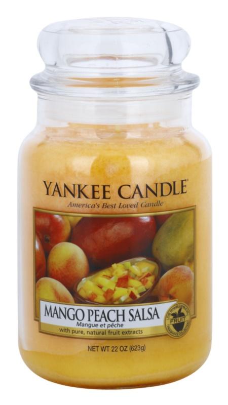 Yankee Candle Mango Peach Salsa illatos gyertya  623 g Classic nagy méret