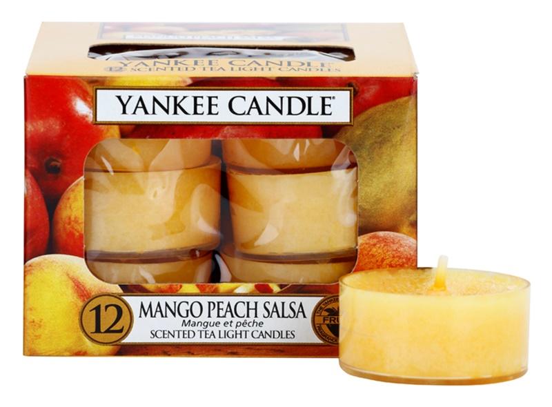 Yankee Candle Mango Peach Salsa vela do chá 12 x 9,8 g
