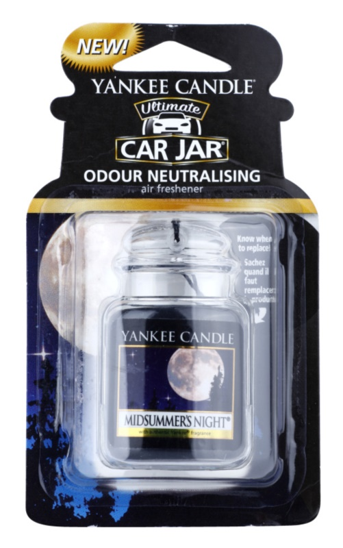 Yankee Candle Midsummer´s Night vôňa do auta   závesná