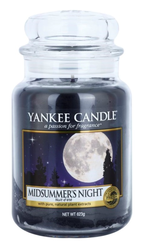 Yankee Candle Midsummer´s Night Duftkerze  623 g Classic groß