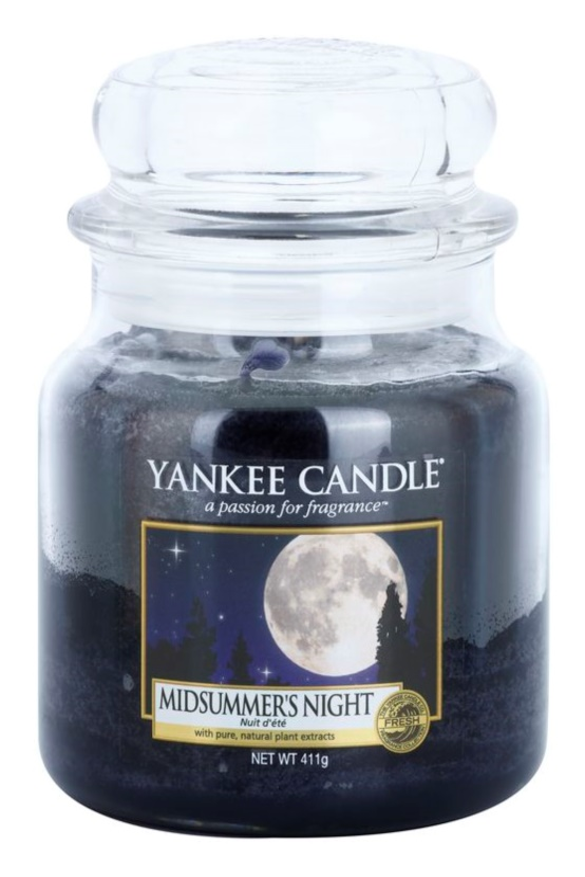 Yankee Candle Midsummer´s Night candela profumata 411 g Classic media