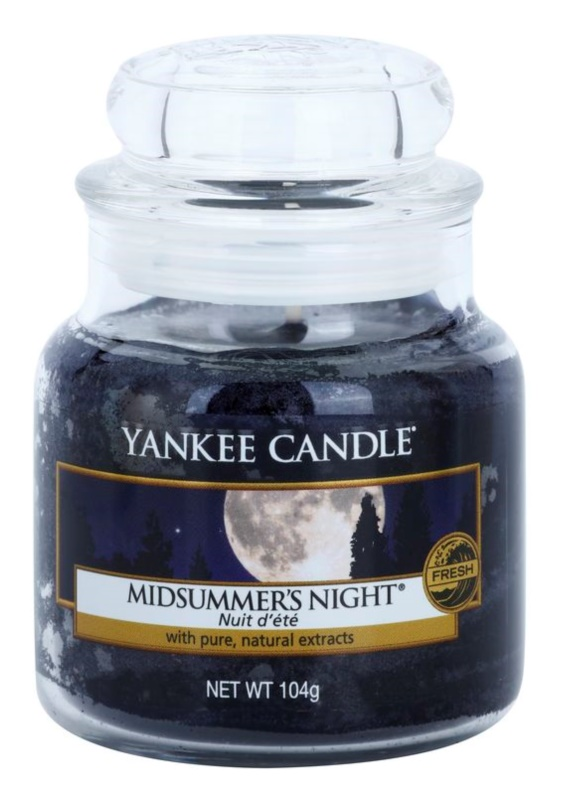 Yankee Candle Midsummer´s Night vonná svíčka 104 g Classic malá