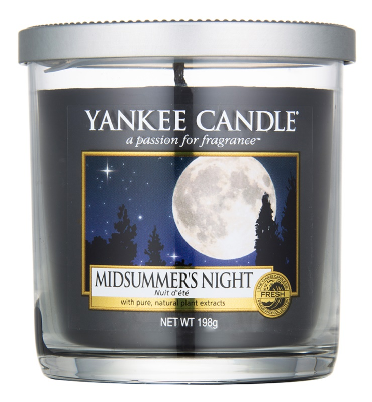 Yankee Candle Midsummer´s Night Duftkerze  198 g Décor klein