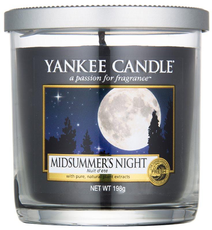 Yankee Candle Midsummer´s Night vonná svíčka 198 g Décor malá