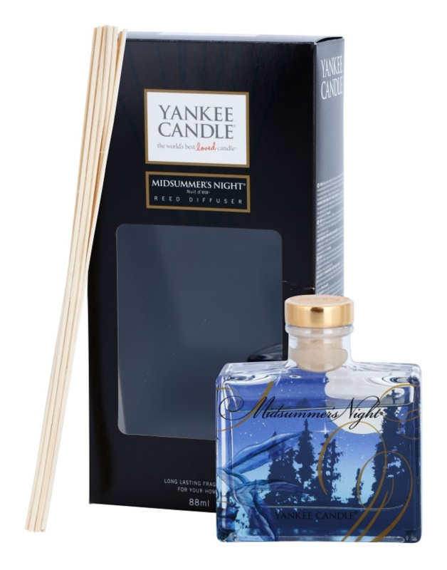 Yankee Candle Midsummer´s Night Aroma Diffuser With Filling 88 ml Signature