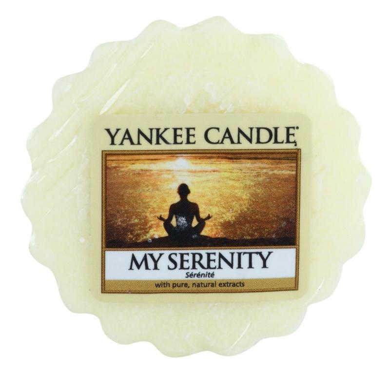 Yankee Candle My Serenity Wachs für Aromalampen 22 g