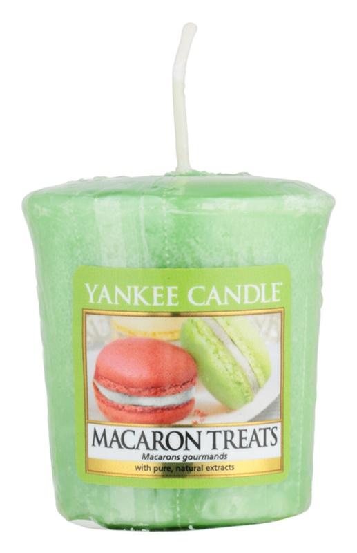 Yankee Candle Macaron Treats votívna sviečka 49 g