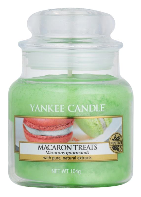 Yankee Candle Macaron Treats vonná sviečka 104 g Classic malá