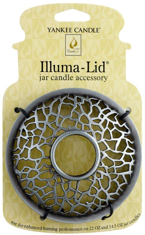 Yankee Candle Matrix Brushed inel decorativ   lumânare clasica pe apa de dimensiuni mari și medii (Silver)