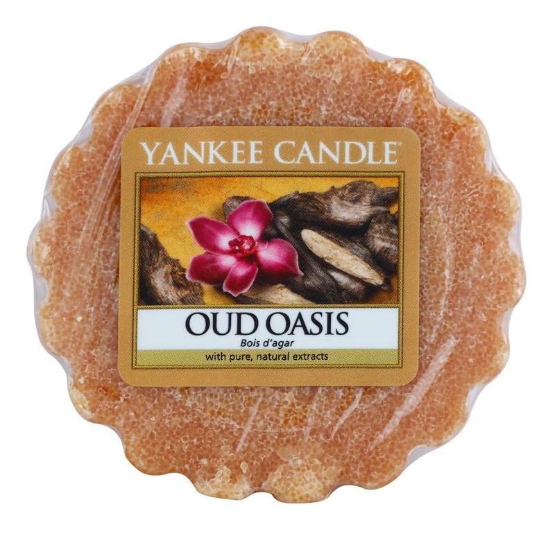 Yankee Candle Oud Oasis cera para lámparas aromáticas 22 g