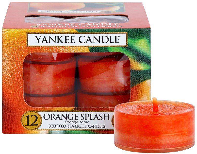 Yankee Candle Orange Splash Teelicht 12 x 9,8 g