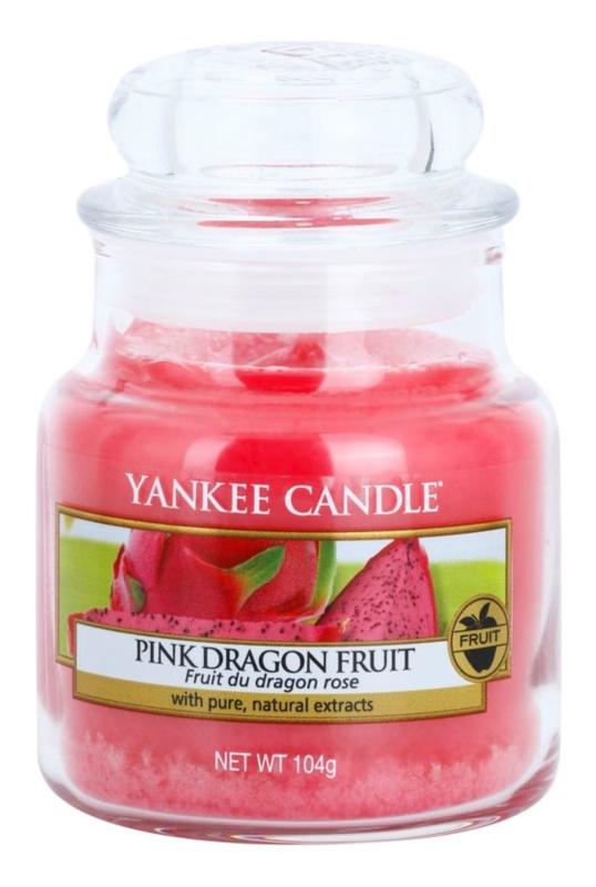 Yankee Candle Pink Dragon Fruit Αρωματικό κερί 104 γρ Κλασικό μικρό