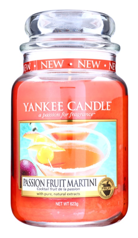 Yankee Candle Passion Fruit Martini bougie parfumée 623 g Classic grande
