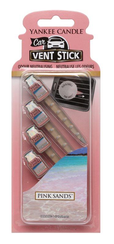 Yankee Candle Pink Sands Άρωμα για αυτοκίνητο 4 τεμ