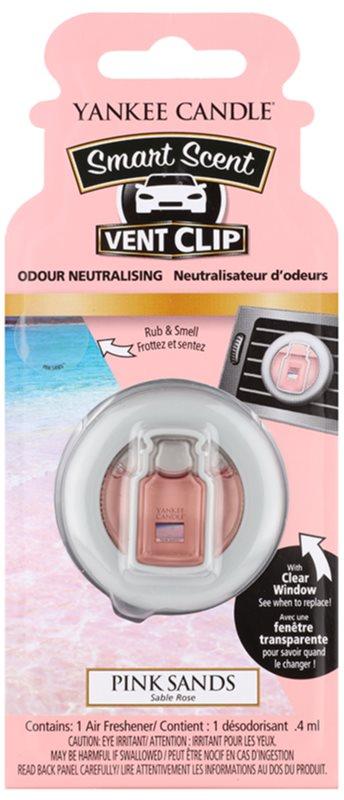 Yankee Candle Pink Sands parfum pentru masina 4 ml Clip