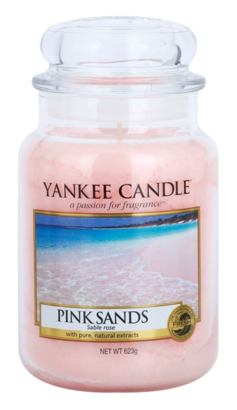 Yankee Candle Pink Sands bougie parfumée 623 g Classic grande