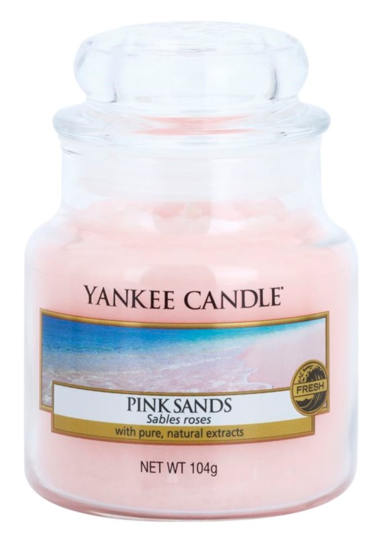Yankee Candle Pink Sands świeczka zapachowa  104 g Classic mała