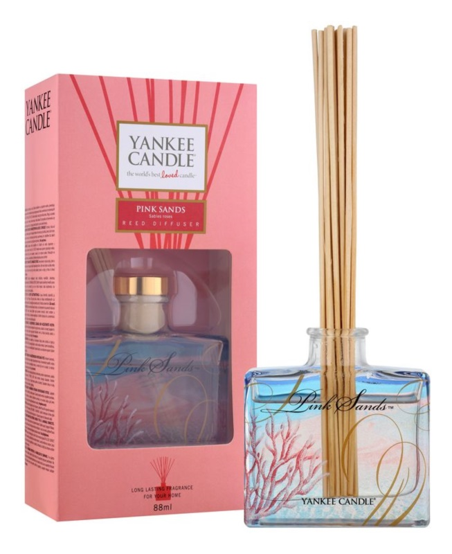 Yankee Candle Pink Sands aroma Diffuser met navulling 88 ml Signature