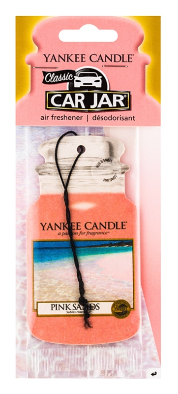 Yankee Candle Pink Sands Hanging Car Air Freshener