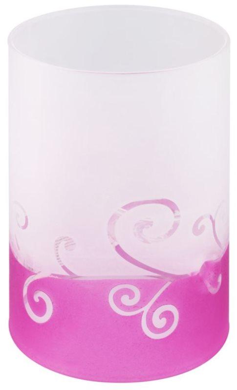 Yankee Candle Purple Scroll Glazen theelichthouder