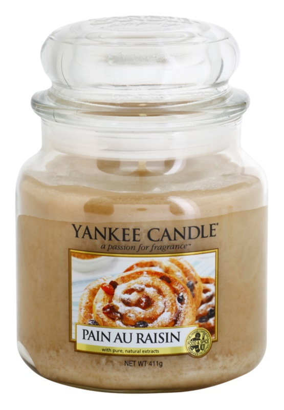 Yankee Candle Pain au Raisin Scented Candle 411 g Classic Medium