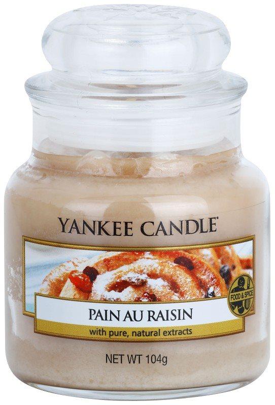 Yankee Candle Pain au Raisin illatos gyertya  104 g Classic kis méret