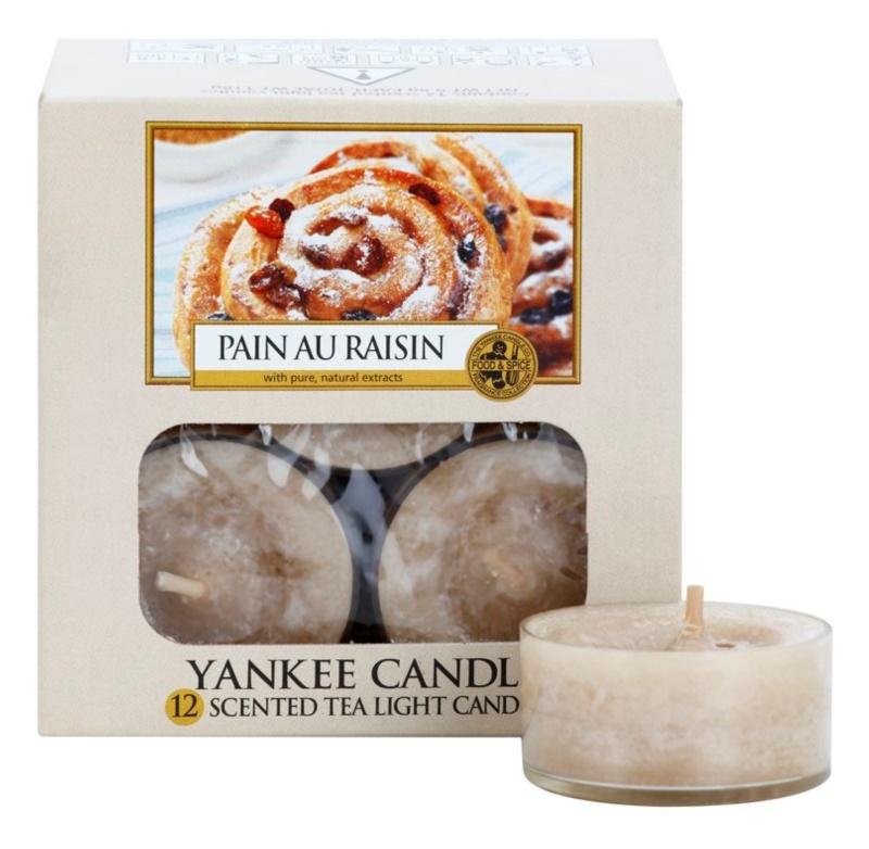 Yankee Candle Pain au Raisin bougie chauffe-plat 12 x 9,8 g