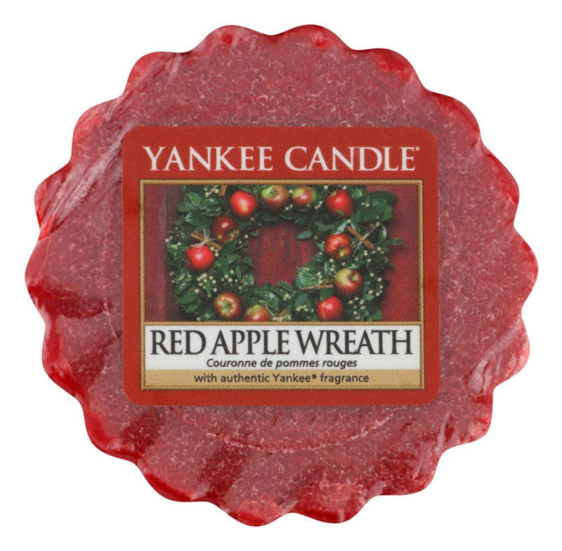 Yankee Candle Red Apple Wreath Wax Melt 22 g