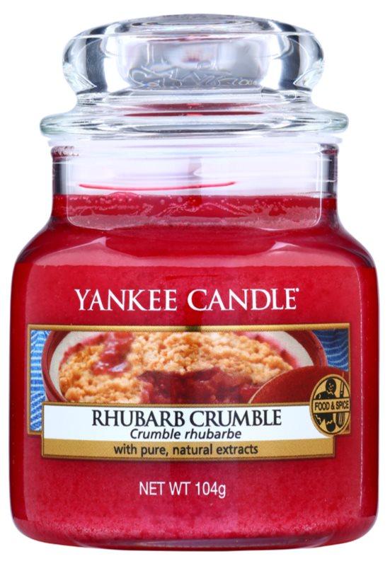 Yankee Candle Rhubarb Crumble Scented Candle 105 g Classic Mini