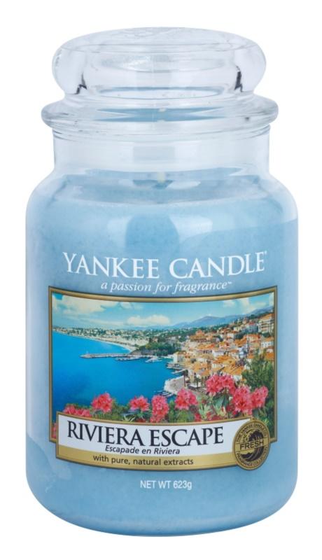 Yankee Candle Riviera Escape świeczka zapachowa  623 g Classic duża