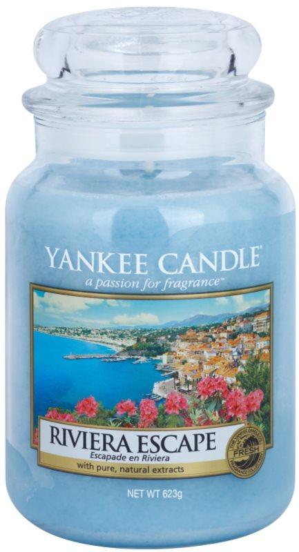 Yankee Candle Riviera Escape vela perfumado 623 g Classic grande