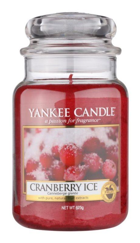 Yankee Candle Cranberry Ice vonná svíčka 623 g Classic velká