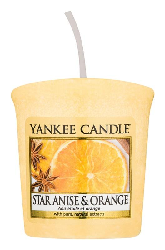 Yankee Candle Star Anise & Orange votívna sviečka 49 g