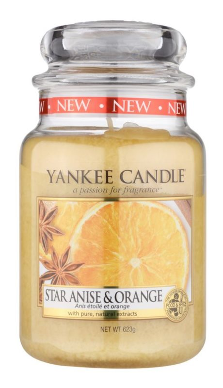 Yankee Candle Star Anise & Orange vonná svíčka 623 g Classic velká