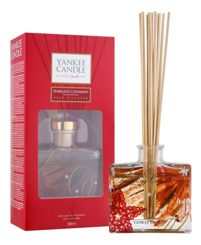 Yankee Candle Sparkling Cinnamon Aroma Diffuser mit Nachfüllung 80 ml Signature