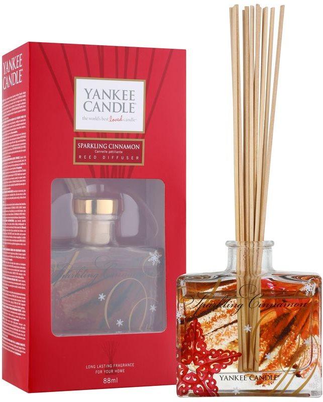 Yankee Candle Sparkling Cinnamon aroma difuzor cu rezervã 80 ml Signature