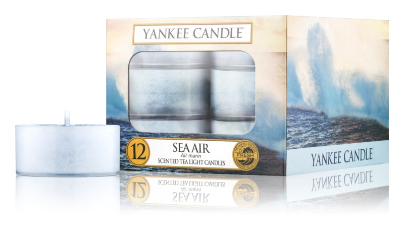 Yankee Candle Sea Air świeczka typu tealight 12 x 9,8 g