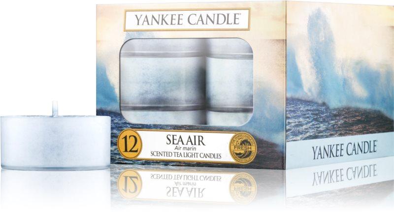 Yankee Candle Sea Air vela do chá 12 x 9,8 g