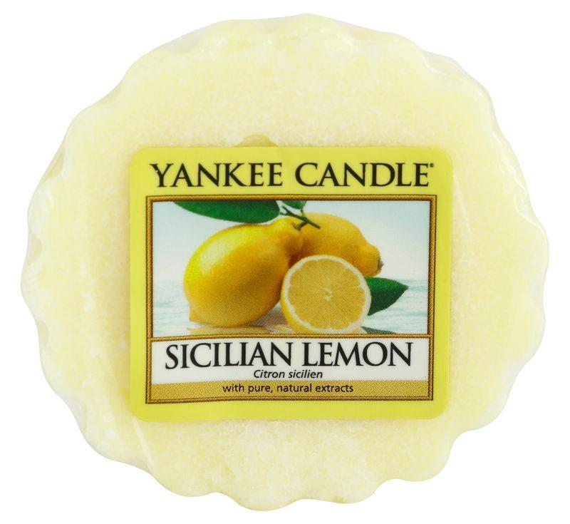 Yankee Candle Sicilian Lemon ceară pentru aromatizator 22 g