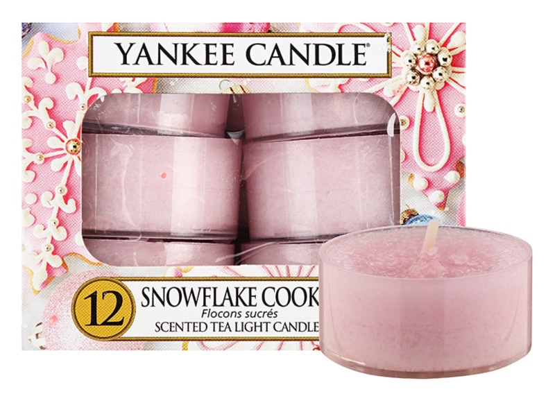 Yankee Candle Snowflake Cookie bougie chauffe-plat 12 x 9,8 g