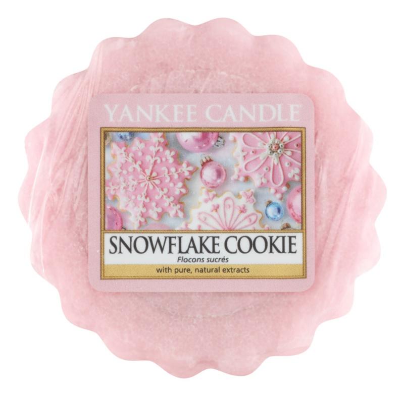 Yankee Candle Snowflake Cookie cera para lámparas aromáticas 22 g